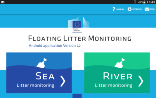 JRC Floating Litter app_screenshot 1