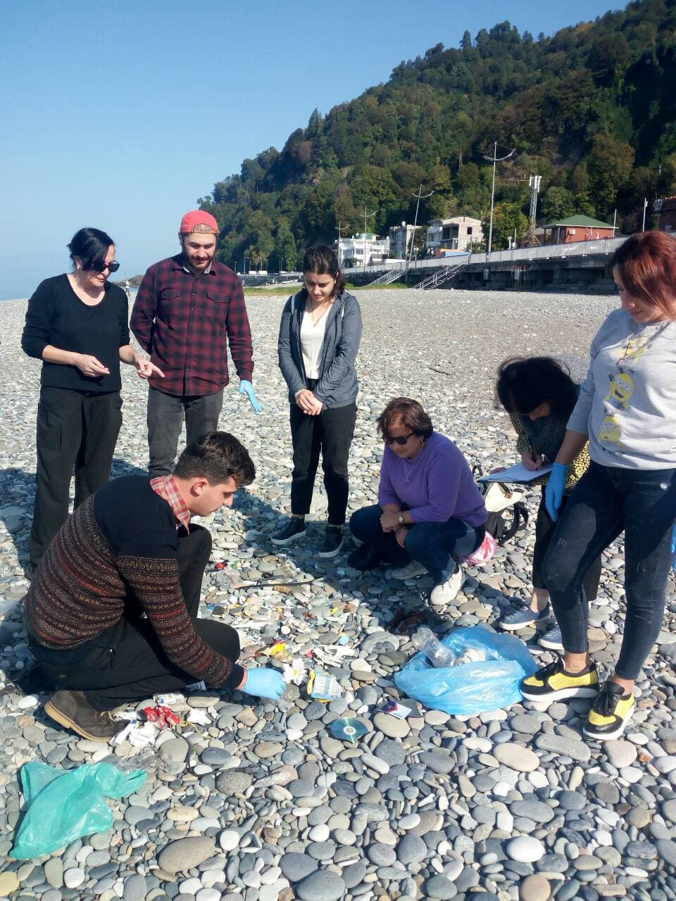 Marine litter monitoring in the Georgian section of the Black Sea: Second Stage