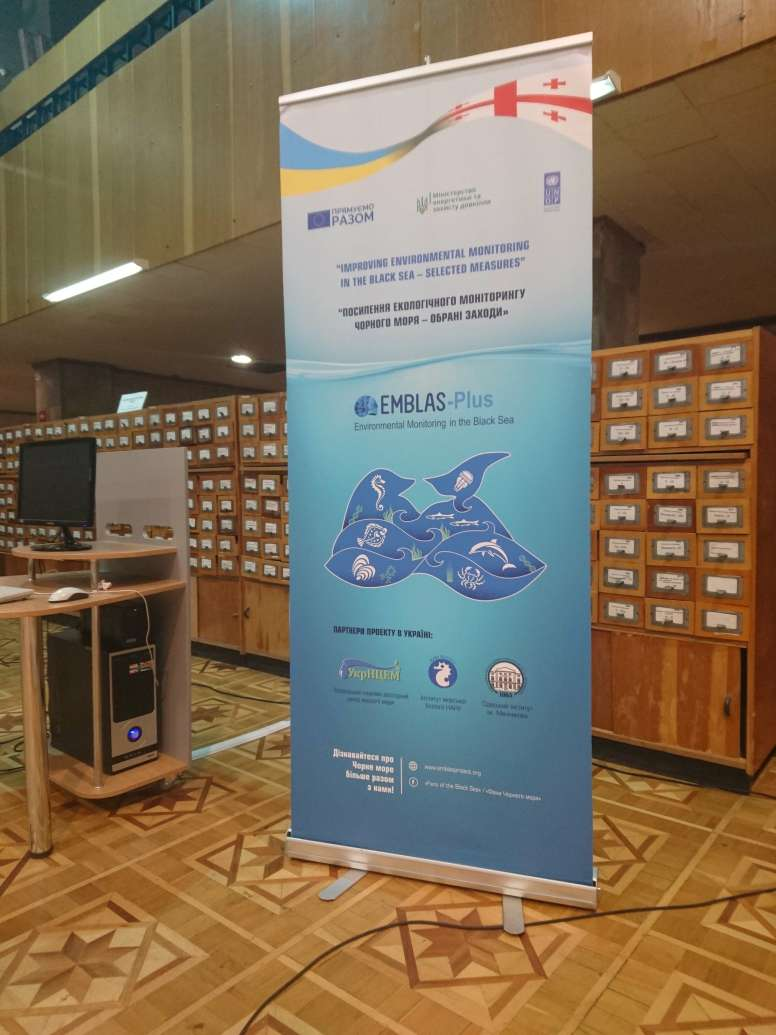 Visits to coastal cities of Ukraine promoting EMBLAS-Plus findings