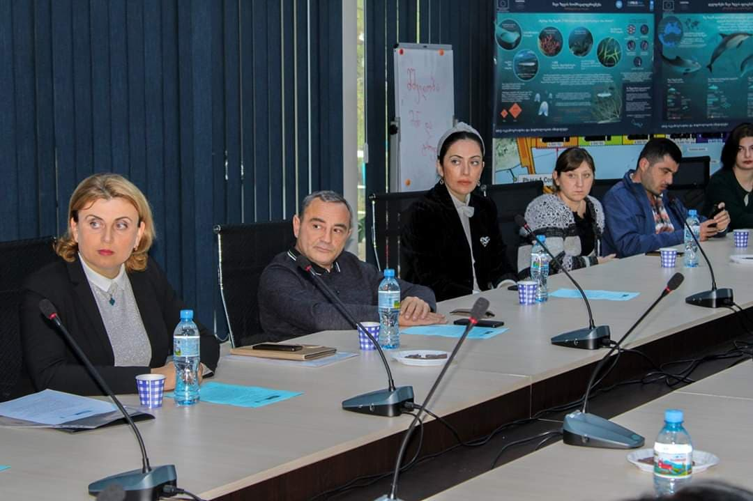 Scientific workshop dedicated to the International Black Sea Action Day. October 31, 2019. Poti, Georgia